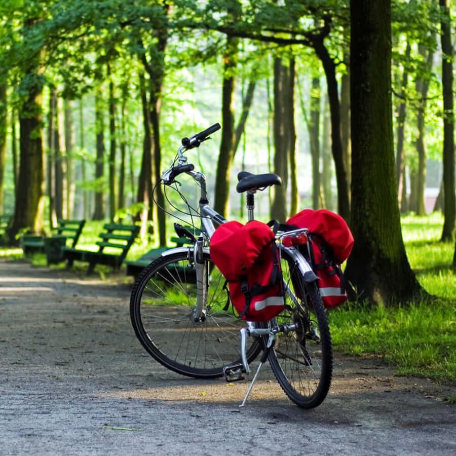 lanckorona-rowerem