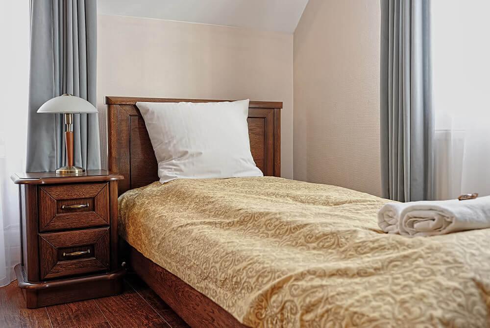 Pokój w hotelu Modrzewiówka